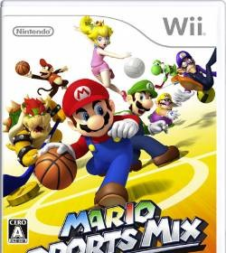 mario sports mix mini jeux de sports sur la wii jeux qc. Black Bedroom Furniture Sets. Home Design Ideas