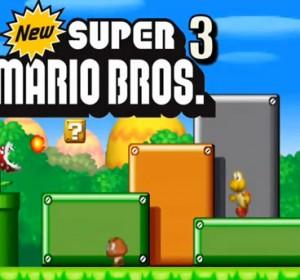 Jeux de Mario: New Super Mario Bros 3 en remake sur DS!