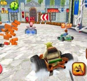 Amusez-vous avec des jeux de voiture et Shrek sur iPhone