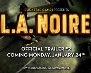 L.A. Noire : deuxième trailer le 24 janvier 2011