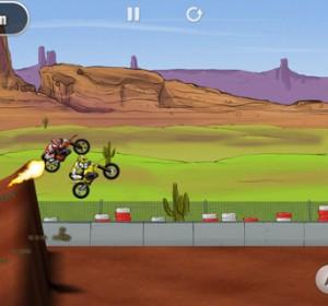 MàJ de 2 jeux de moto pour iPhone: Mad Skills Motocross et Stick Stunt Biker