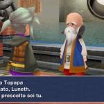 Final Fantasy III pour iPhone en italien