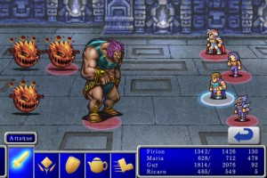 Final Fantasy II pour iPhone et iPod Touch