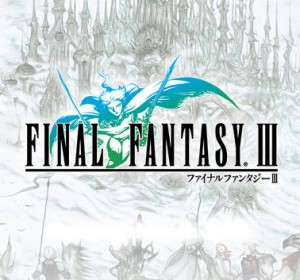 logo final fantasy III iphone 300x280 Final Fantasy III  game for iPhone, iPad,iPod itouch