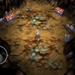 La première caverne de FF3 pour iPhone
