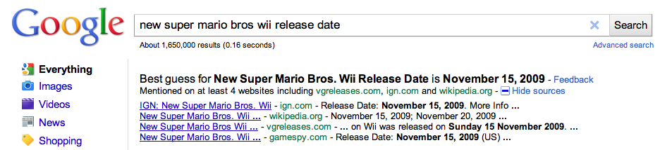 New super Mario bros wii release date
