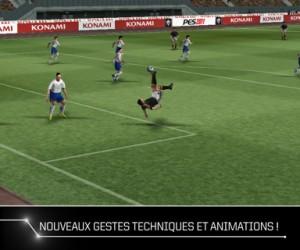 Pro Evolution Soccer 2011 pour iPhone vaut le coup