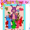 Jeux de fille et de dessin pour souligner la fête des mères