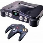 Console de jeux vidéo Nintendo 64