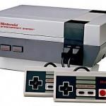 Console de jeux vidéo Nintendo Entertainment System (ou NES)