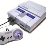 Console de jeux vidéo Super Nintendo Entertainment System (ou SNES)