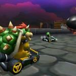 Bowser dans Mario Kart 3DS