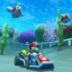Course sous l'eau dans Mario Kart 3DS