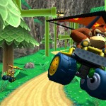Deltaplane dans Mario Kart 3DS