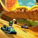 Luigi dans Mario Kard 3DS
