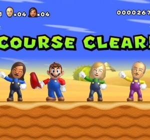 New Super Mario Bros. Mii pour la Wii U