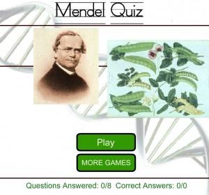 Quiz sur Gregor Mendel