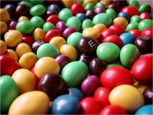 Du chocolat à l'infini avec cette montagne de M&M's