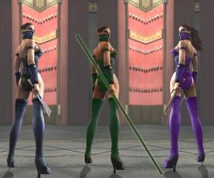 Nouveaux kostumes pour les filles dans les jeux Mortal Kombat