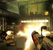 Deus Ex: Human Revolution, combat avec une arme à feu