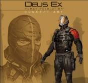 Deus Ex: Human Revolution, détail de la combinaison