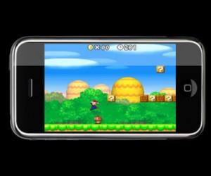Les jeux de Mario bientôt sur iPhone?