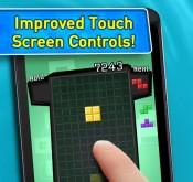 Jeu vidéo Tetris sur la plateforme Android : écran tactile