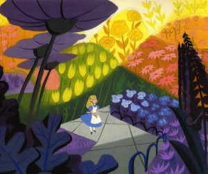 Mary Blair: jeux d'Alice in Wonderland, dans l'univers de Mary Blair