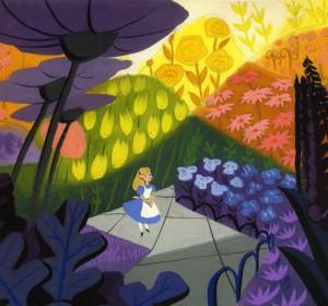 Mary Blair: jeux d'Alice in Wonderland, dans l'univers de Mary Blair