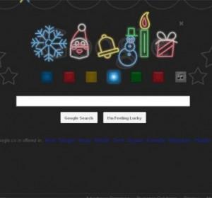 Joyeuses fêtes avec un logo amusant