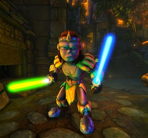 Dungeon Defenders : test du barbare