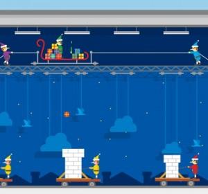 Joyeuses fêtes : «Present Drop», un jeu de Google où vous distribuez des cadeaux